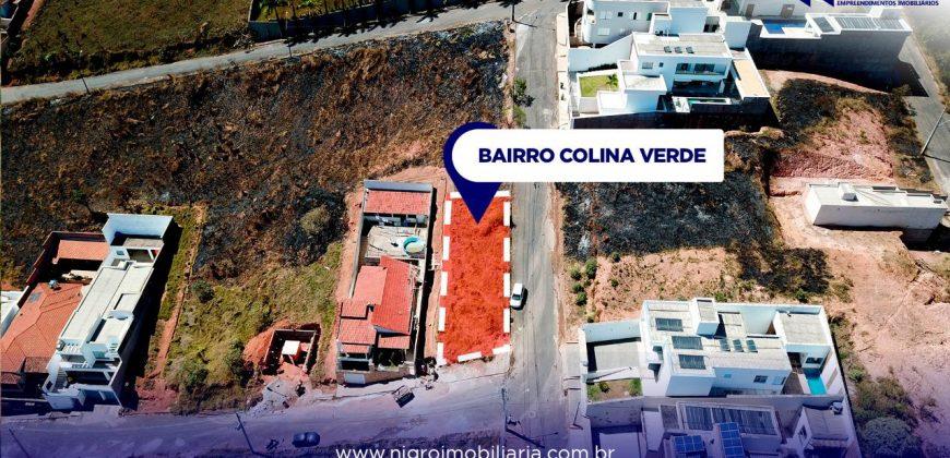 LOTE DE ESQUINA NO BAIRRO COLINA VERDE I